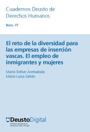 El reteo de la diversidad para las empresas de inserción vascas