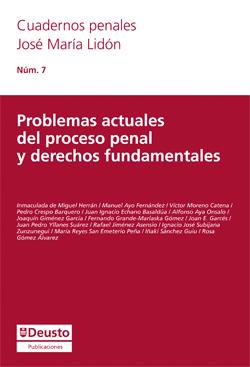Cubierta Problemas actuals del proceso penal