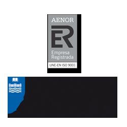 Logo Aenor y UD Publicaciones