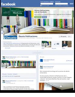 Los libros de Deusto abren cuenta en Facebook